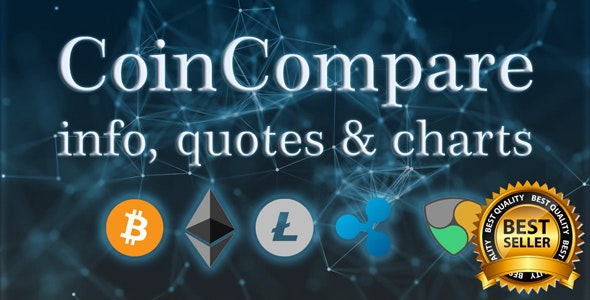 Crypto Compare | Coin Market Cap, Chart, Widget, Watchlist, News | All in One Cryptocurrency App - CodeCanyon Item for Sale