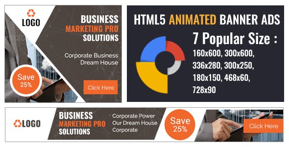 HTML5 Animated Banner Ads Template