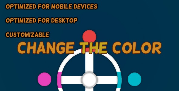 Change The Color (HTML5 Game + Construct 2 CAPX) - CodeCanyon Item for Sale