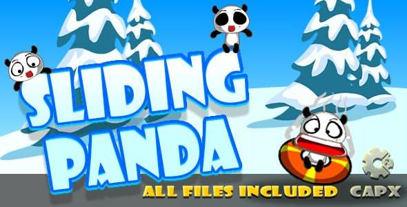 Sliding Panda (CAPX & HTML) Game!