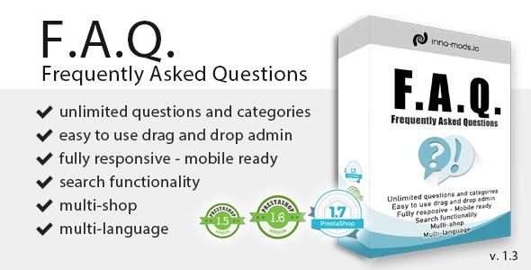 FAQ for Prestashop - CodeCanyon Item for Sale