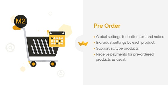 Pre Order for Magento 2 - CodeCanyon Item for Sale