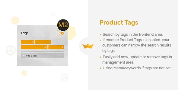 Product Tags for Magento 2 - CodeCanyon Item for Sale