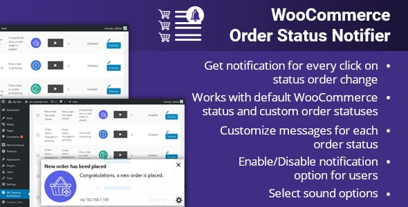 WooCommerce Order Status Notifier by AppJetty | CodeCanyon