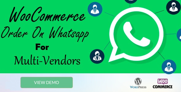WooCommerce Order On Whatsapp for Dokan Multi Vendor Marketplaces - CodeCanyon Item for Sale