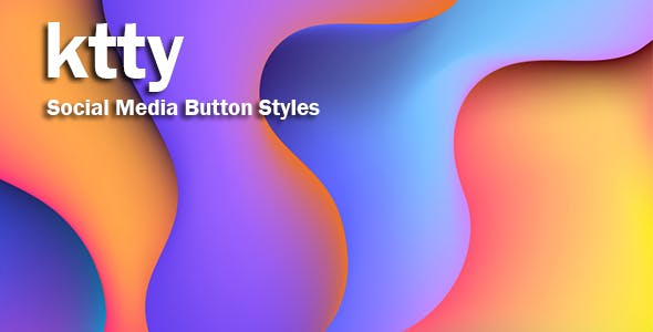 ktty - Social Media Button Styles