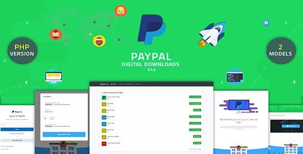 PayPal Digital Downloads