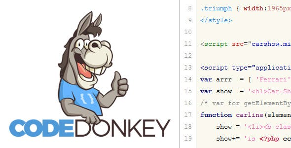 Code-Donkey Code Multi-Highlighter HTML PHP JS CSS - 2018