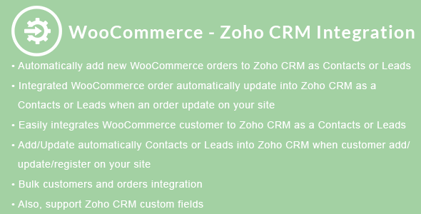 Zoho Plugins, Code & Scripts from CodeCanyon