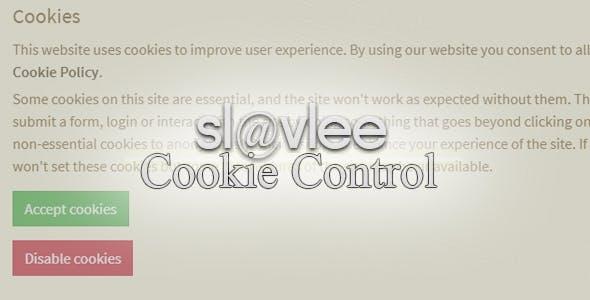 Slavlee Cookie Control