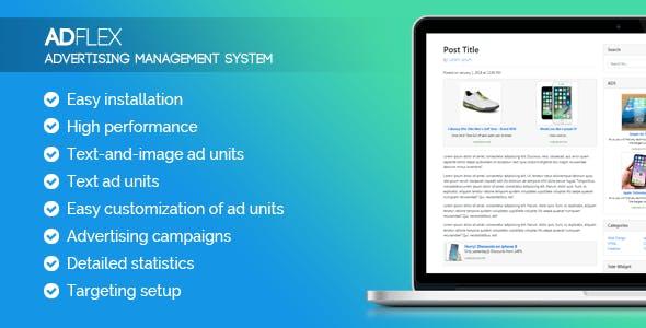 AdFlex - ads management system