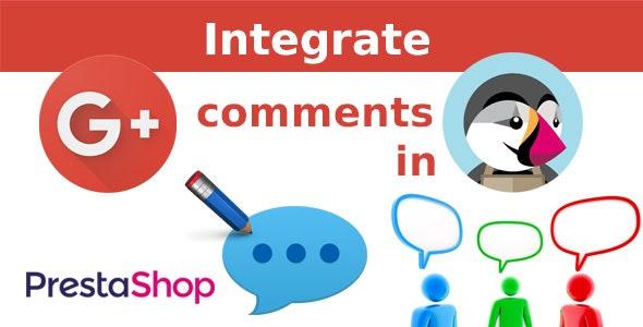Google Plus Comments. Prestashop Module. - CodeCanyon Item for Sale