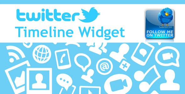 Twitter Feed, Timeline Widget and Follow button. Module for Prestashop