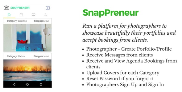 SnapPreneur - CodeCanyon Item for Sale