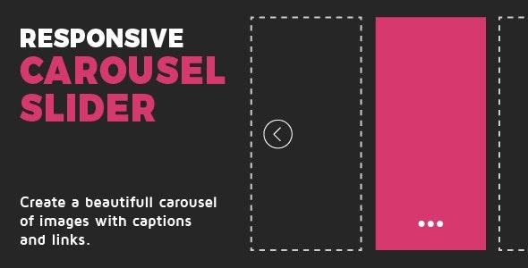 Responsive Carousel Slider - CodeCanyon Item for Sale