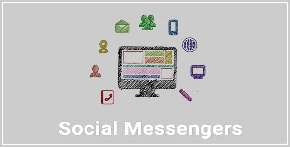 Social Messengers - CodeCanyon Item for Sale