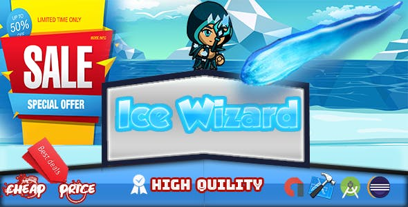 ice wizard Adventure (Admob+Android Studio)