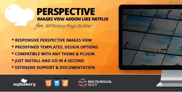 Perspective Image View Addon for WPBakery Page Builder (formerly Visual Composer)