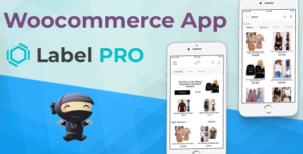 Woocommerce App LabelPRO For Ecommerce Stores Written in Swift 4 Xcode IOS