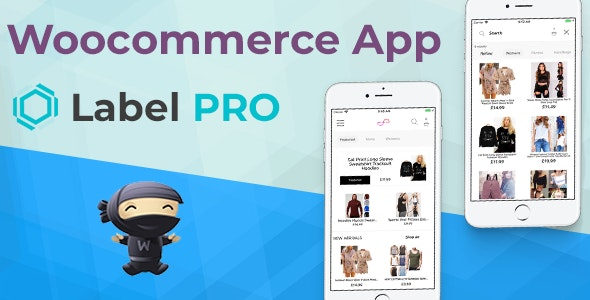 Woocommerce App LabelPRO For Ecommerce Stores Written in