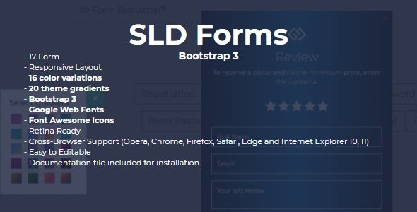 SLD Form Bootstrap 3 - CodeCanyon Item for Sale