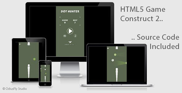 Dot Hunter - HTML5 Game (Construct 2)