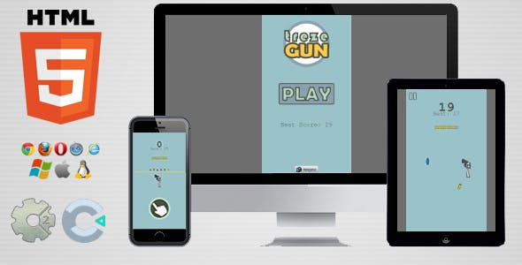 trezeGun - HTML5 Flip Game
