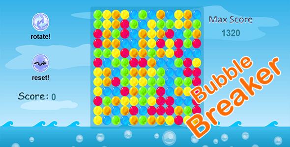 Bubble breaker!