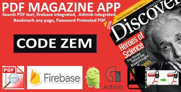 PDF Magazine App for Android
