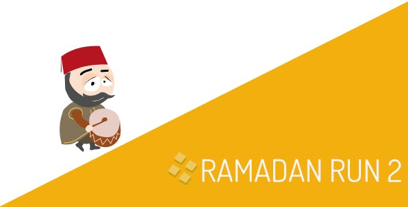 Ramadan Run 2 Android IOS and Buildbox Included Game Template