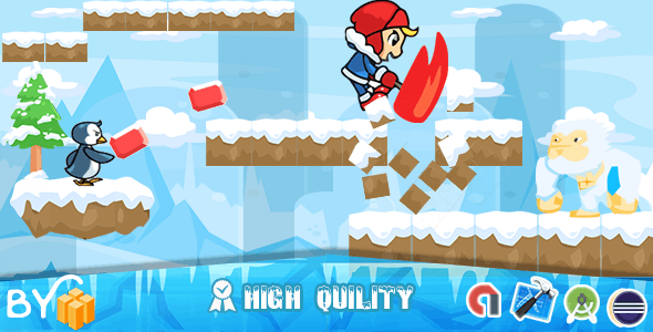 Ice climber Game ❄️ (Admob + Xcode Project ) - CodeCanyon Item for Sale