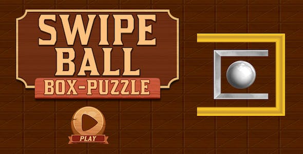 Swipe Ball Box Puzzle Game For Kids + Brain Game + IOS