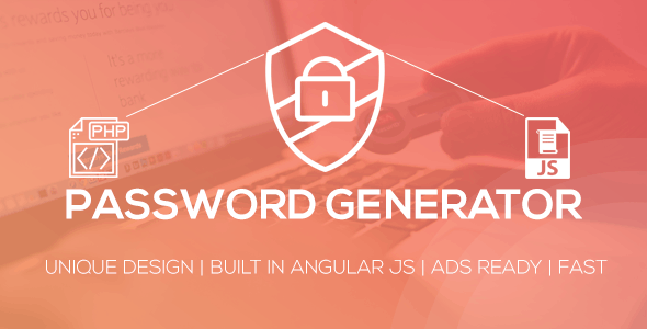 Password Generator Script - CodeCanyon Item for Sale