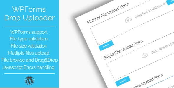 Drop Uploader for WPForms - Drag&Drop File Uploader Addon