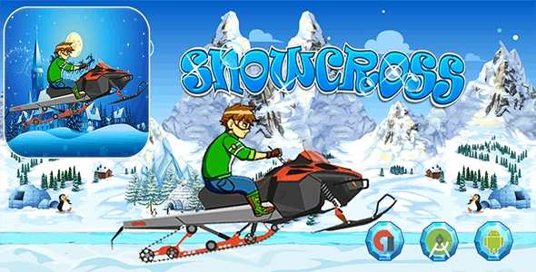 Snowcross Hill Racing - Admob Banner & Interstitial (Android Studio)