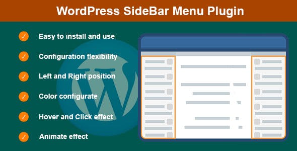 WordPress SideBar Menu Plugin