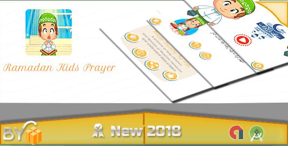 Ramadan Kids Prayer - Android studoi + Tamplate buildbox