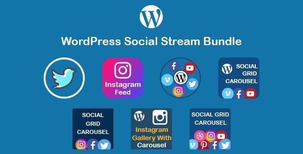WordPress Social Stream Bundle - CodeCanyon Item for Sale