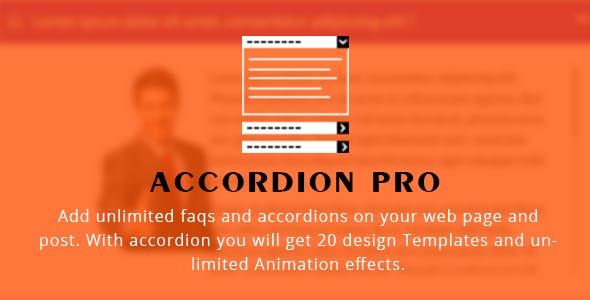 Accordion FAQ WordPress Plugin Responsive