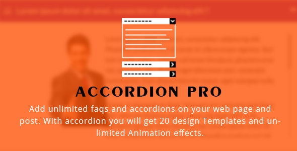 Accordion FAQ WordPress Plugin Responsive - CodeCanyon Item for Sale