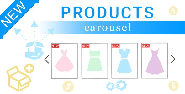New Product Carousel for Prestashop - CodeCanyon Item for Sale