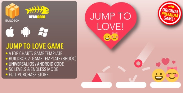 Jump To Love - BuildBox 2 Game Template Document - iOS / Android / BBDOC - CodeCanyon Item for Sale