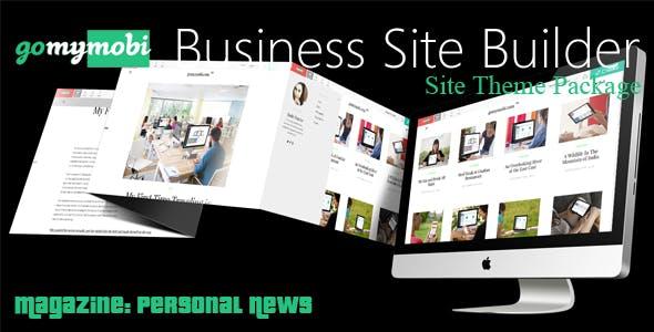 gomymobiBSB's Site Theme: Magazine - Personal News