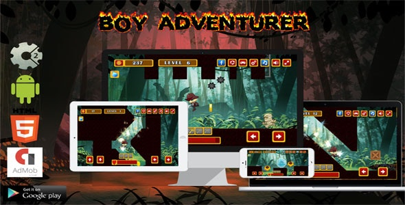 Boy Adventurer - CodeCanyon Item for Sale