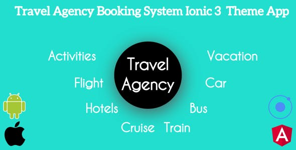Ionic 3 Travel Agency Booking System Theme App Supports Multi Language