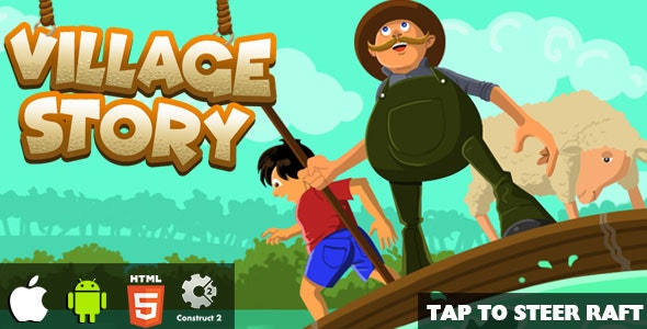 Village Story - HTML5 Game (CAPX) - CodeCanyon Item for Sale