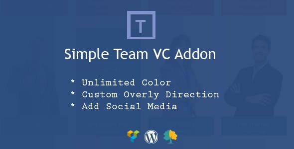 Simple Team  Addon for WPBakery Page Builder