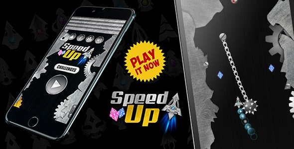 SpeedUp! Explorer Arrow - Android Game With Admob (Android Studio & BBDOC - CodeCanyon Item for Sale