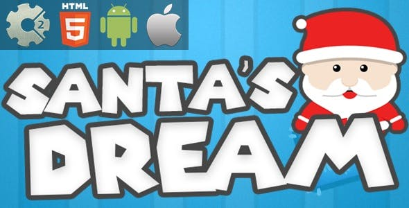 Santa's Dream - HTML5 Game + Mobile Version! (Construct-2 CAPX)