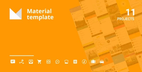 Android Material UI Template 4.1        Nulled